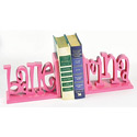 Ballerina Script Bookends, Baby Bookends | Childrens Bookends | Bookends For Kids | ABaby.com