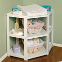 Corner Changing Table, Baby Changing Table | Changing Tables With Drawers | ABaby.com