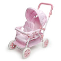 Double Front To Back Doll Stroller, Baby Doll House | Accessories | Doll Furnitutre Sets