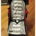 Floral Wishes Stroller Liner, Stroller Accessories | Baby Carriage Liners | ABaby.com