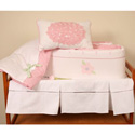 Flower Garden Crib Bedding, Baby Girl Crib Bedding | Girl Crib Bedding Sets | ABaby.com