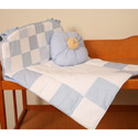 Patchwork Baby Porta Crib Bedding, Portable Crib Bedding Sets | Mini Crib Bedding Sets | ABaby.com
