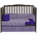 Chevron Crib Bedding Set, Baby Girl Crib Bedding | Girl Crib Bedding Sets | ABaby.com