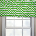 Chevron Window Valance