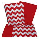 Chevron Adult Rocking Chair Cushion