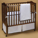 Forever Mine Porta Crib Bedding, Portable Mini Crib Bedding Sets For Your Baby