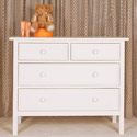 Manhattan Single Dresser/Changer, Wicker Changing Tables | Wood Changing Tables | ABaby.com