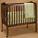 Heavenly Soft Porta Crib Bedding, Portable Mini Crib Bedding Sets For Your Baby