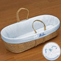 Personalized Expressions Moses Basket, Custom Moses Baskets | Kids Monogrammed Moses Baskets