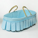Pomp and Ceremony Moses Basket, Baby Baskets For Boys | Boys Moses Baskets | ABaby.com