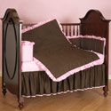 Two Toned Crib Bedding Set