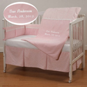 Embroidered Supremacy Crib Bedding, Baby Girl Crib Bedding | Girl Crib Bedding Sets | ABaby.com