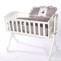 Teddy Bear Cradle Bedding, Baby Cradle Bedding | Cradle Accessories | For Boys & Girls