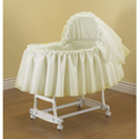 Sheer Elegance Bassinet, Baby Girl Bassinet Bedding | Baby Girl Bedding Sets | ABaby.com