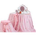 Organza Vanity Collection, Prima ballerina Themed Nursery | Girls ballerina Bedding | ABaby.com