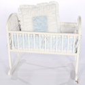 Baby Flower Cradle Bedding, Cradle Accessories | Bedding For Cradles | ABaby.Com