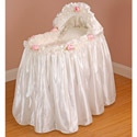 Bride's Rose Bassinet, Baby Girl Bassinet Bedding | Baby Girl Bedding Sets | ABaby.com