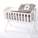 Teddy Bear Cradle Bedding, Cradle Accessories | Bedding For Cradles | ABaby.Com