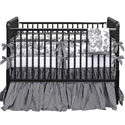 Gingham Toile Crib Bedding Set, Crib Comforters |  Ballerina Crib Bedding | ABaby.com