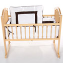 Sweet Classic Cradle Bedding, Baby Cradle Bedding | Cradle Accessories | For Boys & Girls