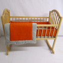Suede Susie Cradle Bedding, Baby Cradle Bedding | Cradle Accessories | For Boys & Girls
