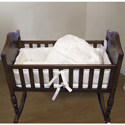 Gold Brocade Cradle Bedding, Cradle Accessories | Bedding For Cradles | ABaby.Com