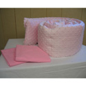 Minky Porta Crib 2 Piece Bedding Set, Portable Mini Crib Bedding Sets For Your Baby