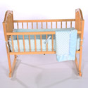Heavenly Soft Cradle Bedding, Baby Cradle Bedding | Cradle Accessories | For Boys & Girls