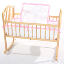 Lucy Cradle Bedding Set, Cradle Accessories | Bedding For Cradles | ABaby.Com