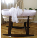 Baby's Breath Moses Basket, Baby Baskets For Girls | Girls Moses Baskets | ABaby.com