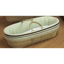 Friendship Moses Basket, Baby Baskets For Boys | Boys Moses Baskets | ABaby.com