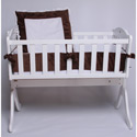Snuggle Diamond Cradle Bedding, Cradle Accessories | Bedding For Cradles | ABaby.Com