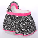 Minky Zebra Bassinet, Baby Girl Bassinet Bedding | Baby Girl Bedding Sets | ABaby.com