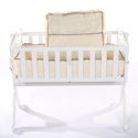 Organic Cradle Bedding, Cradle Accessories | Bedding For Cradles | ABaby.Com