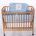 Teddy Bear Porta Crib Bedding, Portable Mini Crib Bedding Sets For Your Baby