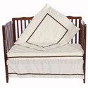 Chelsea Porta Crib Bedding Set, Portable Mini Crib Bedding Sets For Your Baby