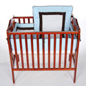 Sweet Classic Porta Crib Bedding, Portable Mini Crib Bedding Sets For Your Baby