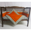 Suede Susie Porta Crib Bedding Set, Portable Mini Crib Bedding Sets For Your Baby