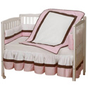 Sweet Classic Crib Bedding Set, Baby Girl Crib Bedding | Girl Crib Bedding Sets | ABaby.com