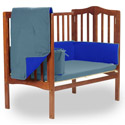Reversible Portable Crib Bedding, Portable Mini Crib Bedding Sets For Your Baby