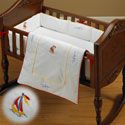 Sea Breeze Cradle Bedding, Nautical Themed Nursery | Nautical Bedding | ABaby.com