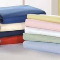 Portable Crib Poly/Cotton Sheets - Set of 12