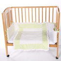 Snuggle Diamond Porta Crib Bedding, Portable Mini Crib Bedding Sets For Your Baby