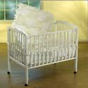 Waffle Fleece Porta Crib Bedding, Portable Mini Crib Bedding Sets For Your Baby
