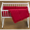 12 x 28 Woodcrafter's Cradle Bedding, Baby Cradle Bedding | Cradle Accessories | For Boys & Girls