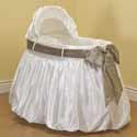 A Gift for You Bassinet, Baby Bassinet Bedding sets, Bassinet Skirts, Bassinet Liners, and Hoods