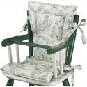 Country Style High Chair Cushions , Baby High Chairs | Designer High Chairs | ABaby.com