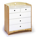 Bebe 2 Dresser/Changer, Baby Changing Table | Changing Tables With Drawers | ABaby.com