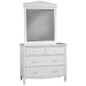 Emma 4 Drawer Dresser, Children's Dressers | Kids | Toddler | ABaby.Com