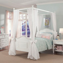 Emma 4 Post Bed, Childrens Beds | Girls Twin Bed | ABaby.com